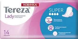 TerezaLady Super прокладки урологические, 4 капли, 14 шт.