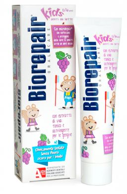 Biorepair kids Grape паста зубная детская