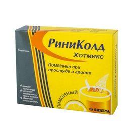 Риниколд ХотМикс, порошок для приготовления раствора для приема внутрь, лимонные(ый), 5 г, 5 шт.