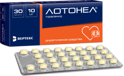 Лотонел, 10 мг, таблетки, 30 шт.