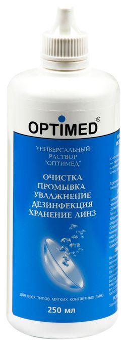Optimed универсальный раствор для контактных линз