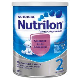 Nutrilon 2 Гипоаллергенный, смесь молочная сухая, 800 г, 1шт.