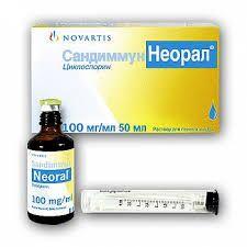 Сандиммун Неорал, 100 мг/мл, раствор для приема внутрь, 50 мл, 1шт.