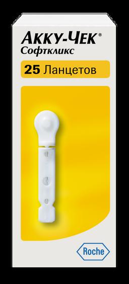 Accu-Chek Softclix ланцеты к устройству для прокалывания пальца