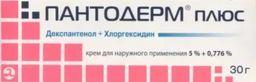 Пантодерм плюс, 5%+0.776%, крем для наружного применения, 30 г, 1шт.