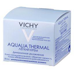 Vichy Aqualia Thermal легкий крем динамическое увлажнение, крем для лица, для нормальной и комбинированной кожи, 50 мл, 1 шт.