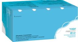 Тоби Подхалер, 28 мг, капсулы с порошком для ингаляций, 224 шт.