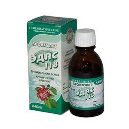 Эдас-118 Бронхолат, капли для приема внутрь гомеопатические, 25 мл, 1 шт.