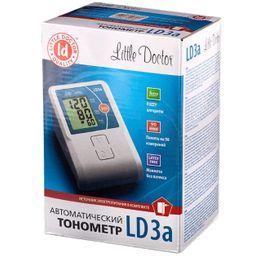 Тонометр автоматический Little Doctor LD3a, с адаптером и увеличенной манжетой, 1шт.