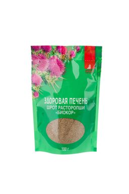 Шрот расторопши Биокор, гранулы, 100 г, 1 шт.