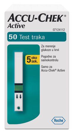 Accu-Chek Active Тест-полоски