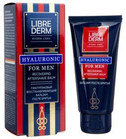 Librederm For Men гиалуроновый бальзам после бритья