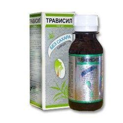 Трависил, раствор для приема внутрь, без сахара, 100 мл, 1 шт.