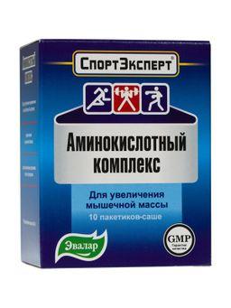 Спортэксперт Аминокислотный комплекс, порошок, 4.6 г, 10 шт.