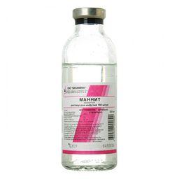 Маннит, 150 мг/мл, раствор для инфузий, 200 мл, 28 шт.