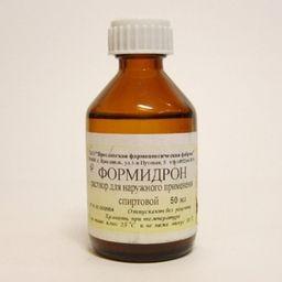 Формидрон, раствор для наружного применения спиртовой, 50 мл, 1шт.