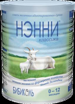 Нэнни Классика, для детей с рождения, смесь молочная сухая, на основе козьего молока, 400 г, 1шт.
