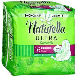 Naturella ultra maxi duo прокладки женские гигиенические, прокладки гигиенические, 16 шт.
