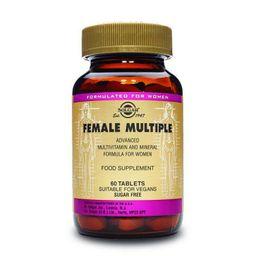 Solgar мультивитаминный и минеральный комплекс для женщин, таблетки, 60шт.