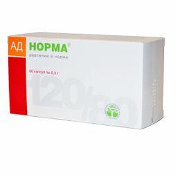 АД Норма, 0.3 г, капсулы, 60 шт.