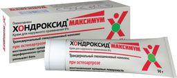 Хондроксид Максимум, 8%, крем для наружного применения, 50 г, 1 шт.