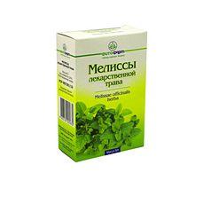 Мелиссы лекарственной трава, сырье растительное измельченное, 50 г, 1 шт.