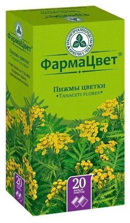 Пижмы цветки, сырье растительное-порошок, 1.5 г, 20шт.