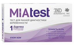 MiaTest Тест на беременность, тест-полоска, 1 шт.