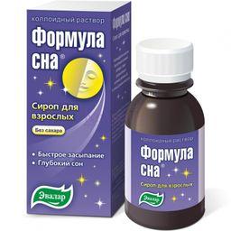 Формула сна коллоидный раствор, жидкость для приема внутрь, без сахара, 100 мл, 1шт.