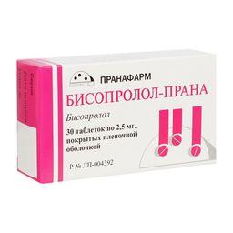 Бисопролол-Прана