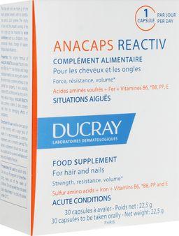 Ducray Анакапс Реактив для волос и кожи головы, 812 мг, капсулы, 30 шт.