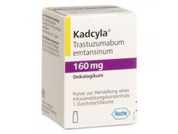 Кадсила, 160 мг, лиофилизат для приготовления концентрата для приготовления раствора для инфузий, 1шт.