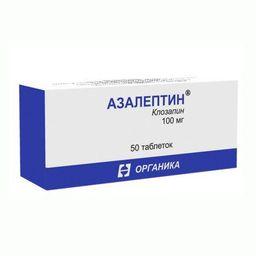 Азалептин, 100 мг, таблетки, 50 шт.