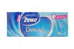 Zewa Deluxe платки носовые бумажные, 10 шт.