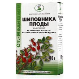 Шиповника плоды низковитаминные, сырье растительное измельченное, 100 г, 1 шт.