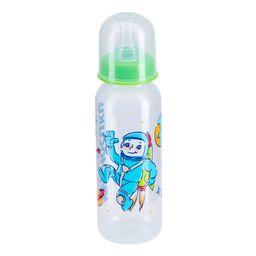 Курносики бутылочка с силиконовой соской 0+, 250 мл, арт. 11101, с рисунком, в ассортименте, с силиконовой соской, 1шт.