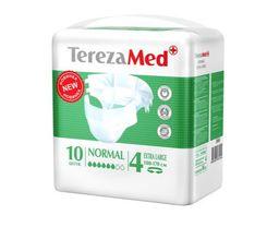 Подгузники TerezaMed Normal, Extra Large XL (4), 100-170 см, 10 шт.