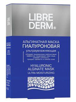 Librederm Гиалуроновая альгинатная маска, маска для лица, 30 г, 5 шт.