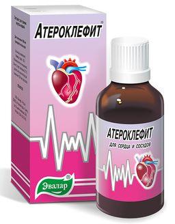 Атероклефит, экстракт жидкий для приема внутрь, 100 мл, 1 шт.