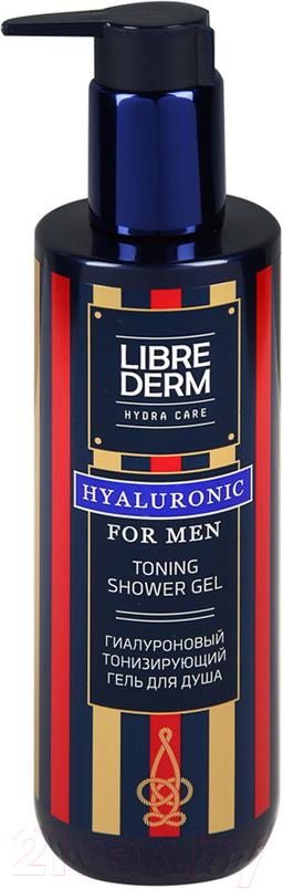 Librederm For Men гиалуроновый тонизирующий гель для душа
