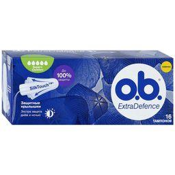 o.b. extra defence super+comfort тампоны женские гигиенические