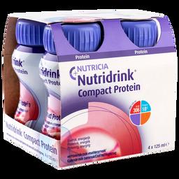 Nutridrink compact protein, жидкость для приема внутрь, охлаждающий фруктово-ягодный вкус, 125 мл, 4 шт.
