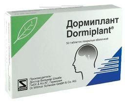 Дормиплант, таблетки, покрытые пленочной оболочкой, 50 шт.