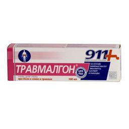 911 гель для тела Травмалгон, гель для тела, 100 мл, 1 шт.