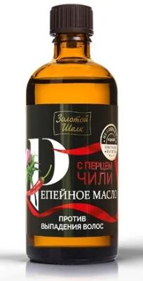 Золотой Шелк масло репейное перец чили