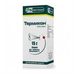 Термикон, 1%, спрей для наружного применения, 15 г, 1 шт.