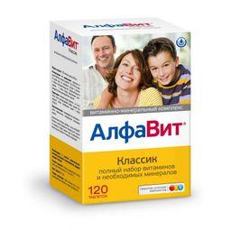 Алфавит Классик, таблеток набор, 120 шт.