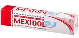 Mexidol dent Aktiv Зубная паста, паста зубная, 65 г, 1 шт.