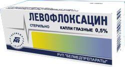 Левофлоксацин (глазные капли), 0.5%, капли глазные, 5 мл, 1 шт.
