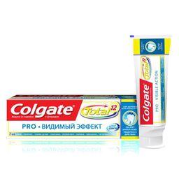 Colgate Total 12 Pro Видимый эффект зубная паста